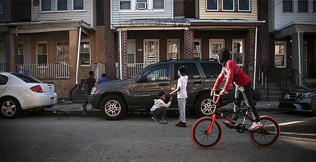 Children playing in the street. Photo Credit: Lisa Riordan Seville/NBC News