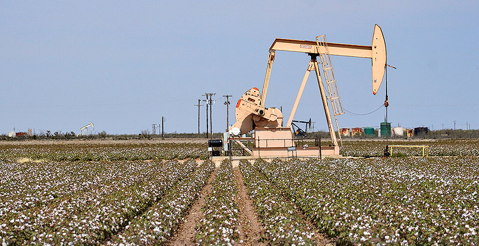 Texas oil well. Photo credit: Diann Bayes/Flickr