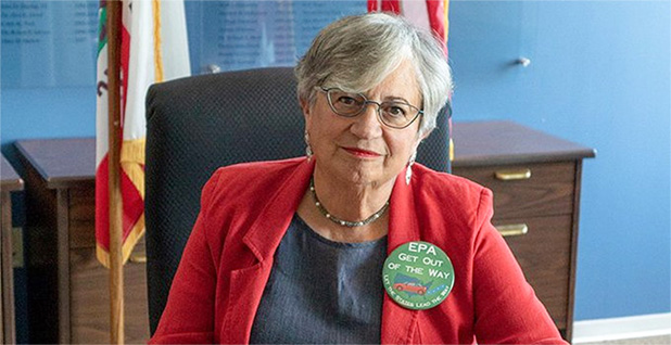 Mary Nichols, chair of the California Air Resources Board. Photo credit: @MaryNicholsCA/Twitter