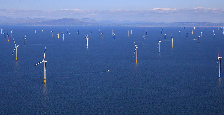 Walney Extension wind farm. Photo credit: Phil Noble/Reuters/Newscom