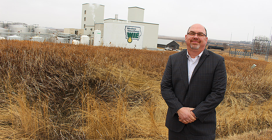 Brad Wilson, president and general manager of Western Iowa Energy. Photo credit: Marc Heller/E&E News