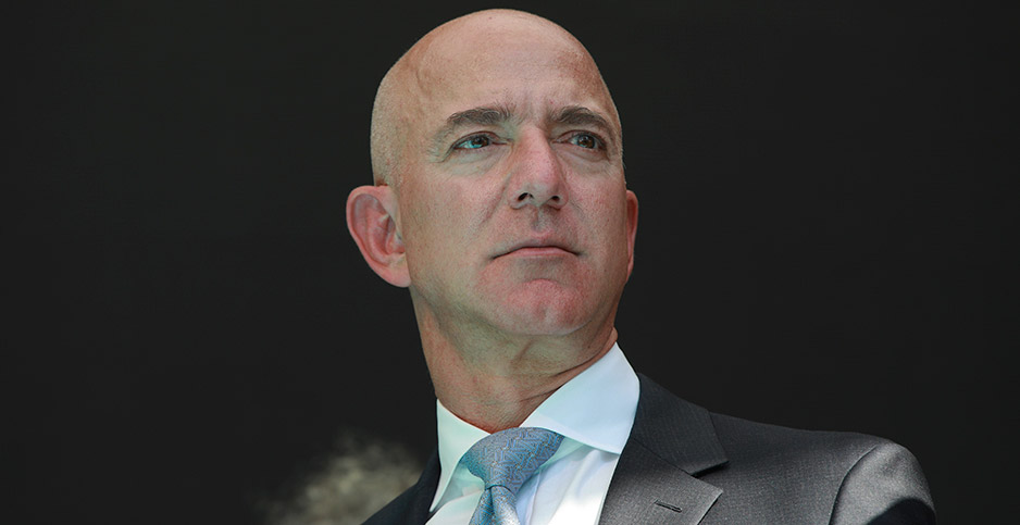 Jeff Bezos, founder of Amazon. Photo credit: AHMET SEL/SIPA/Newscom