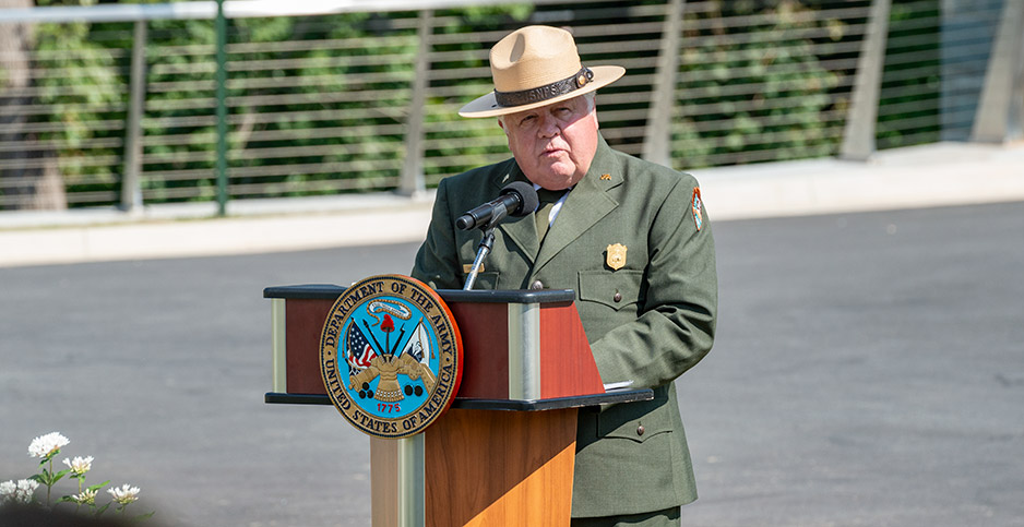 Former acting National Park Service Director P. Daniel Smith. Photo credit: Arlington National Cemetery/Flickr