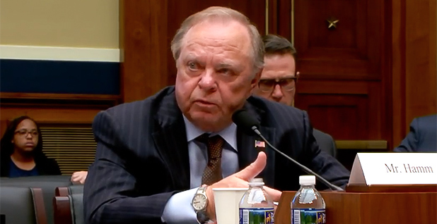 Harold Hamm. Photo credit: House Energy and Commerce Committee