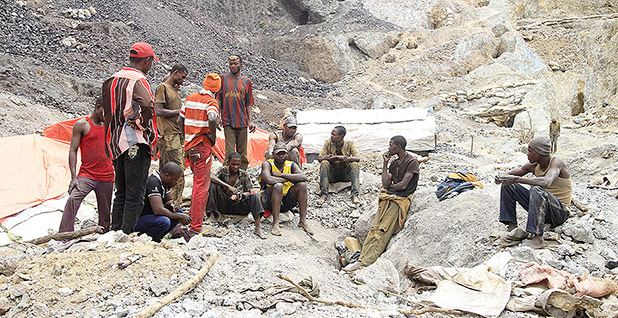 Colbalt miners. Photo credit: Kenny Katombe/REUTERS/Newscom