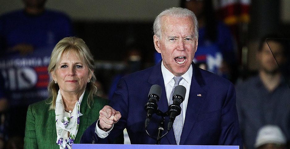 Former Vice President Joe Biden dominated Super Tuesday primary races. Photo credit: Image Press Agency/Sipa USA/Newscom