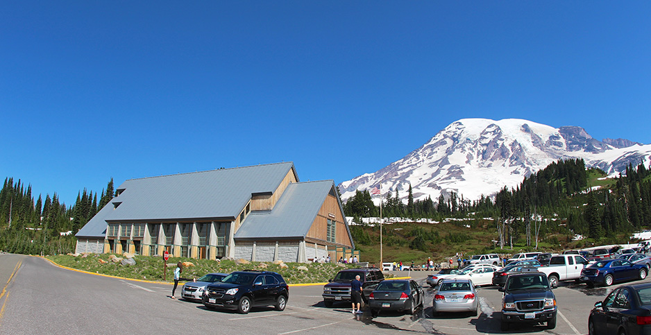 Paradise Henry M. Jackson Visitor Center at Mount Rainier National Park. Photo credit: daveynin/Flickr