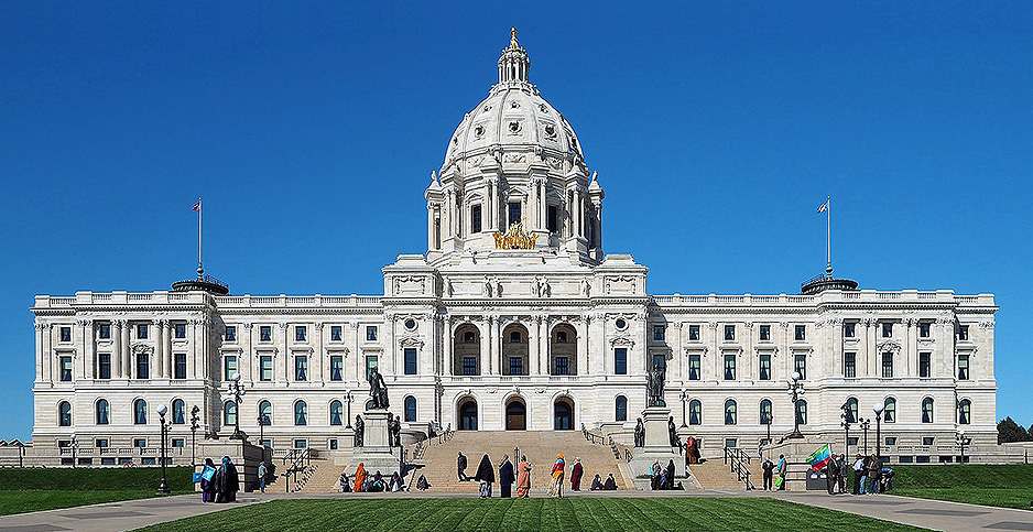Minnesota State Capitol. Photo credit: McGhiever/Wikimedia Commons