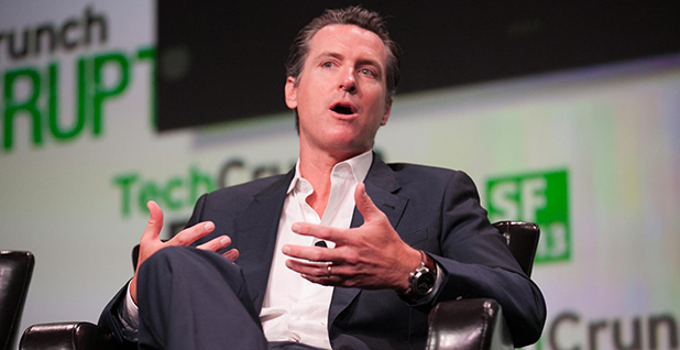Gavin Newsom. Photo credit: JD Lasica/Flickr