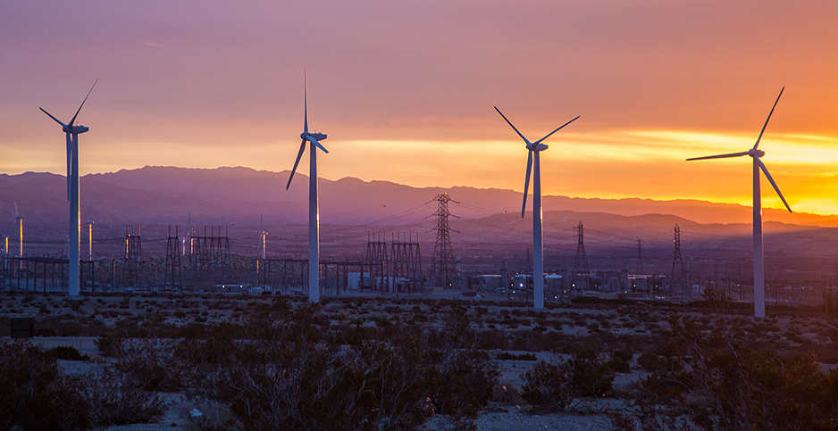 A wind facility is pictured near White Water, Calif. Photo credit: Tony Webster/Flickr