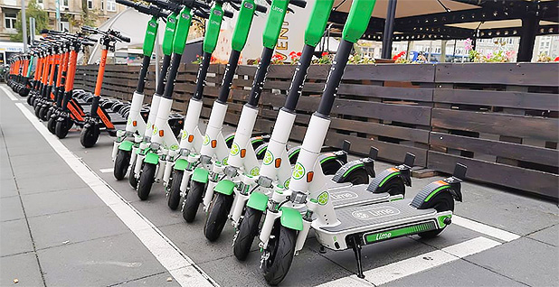 Electric scooters. Photo credit pxfuel