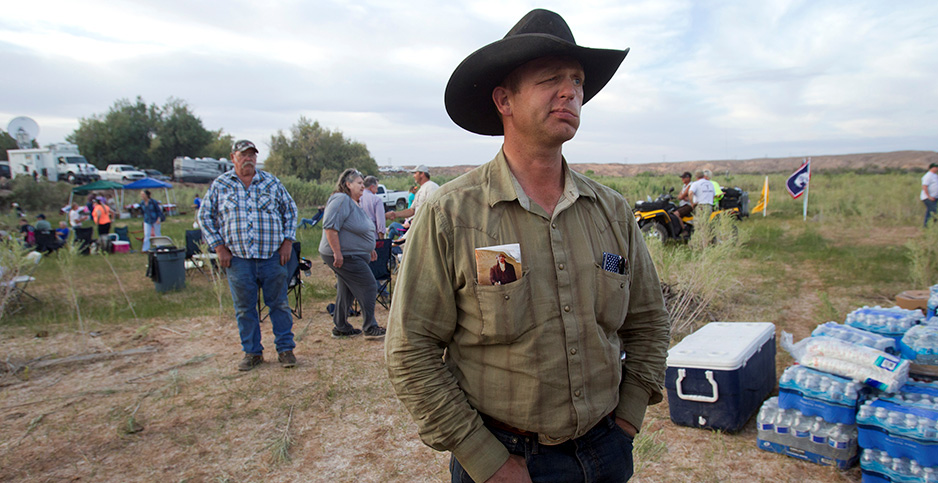 Nevada rancher Ryan Bundy. Photo credit: Steve Marcus/Reuters/Newscom