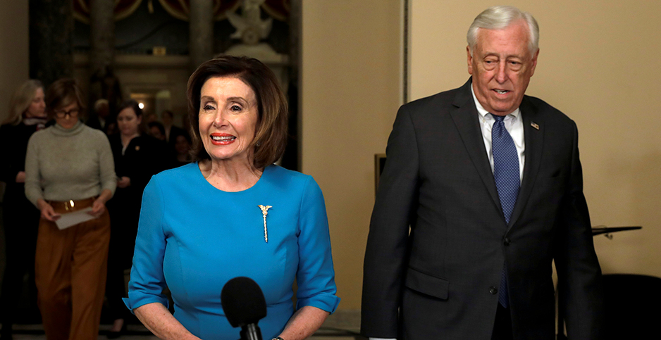 Reps. Nancy Pelosi (D-Calif.) and Steny Hoyer (D-Md.). Photo credit: Yuri Gripas/Reuters/Newscom
