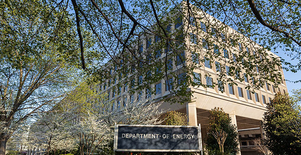 Department of Energy headquarters. Photo credit: Francis Chung/E&E News