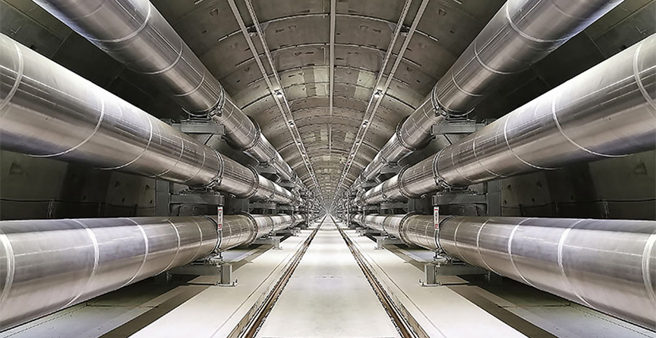 Transmission line tunnel in China. Photo credit: ABB Ltd.