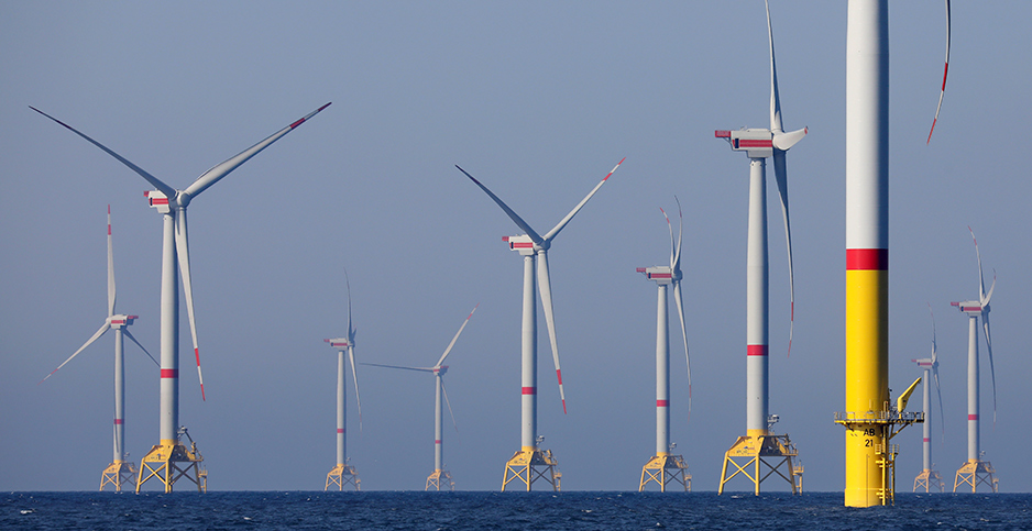 Offshore wind farm. Photo credit: Bernd W�stneck/dpa/picture-alliance/Newscom