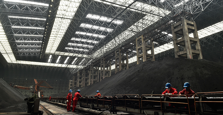 A coal-fired power plant in east China's Shandong province. Photo credit: Dong Naide/FEATURECHINA/Newscom