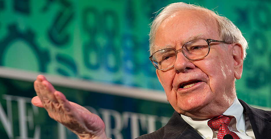 Warren Buffett. Photo credit: Fortune Live Media/Flickr