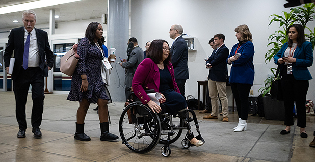 Sen. Tammy Duckworth (D-Ill.). Photo credit: Francis Chung/E&E News