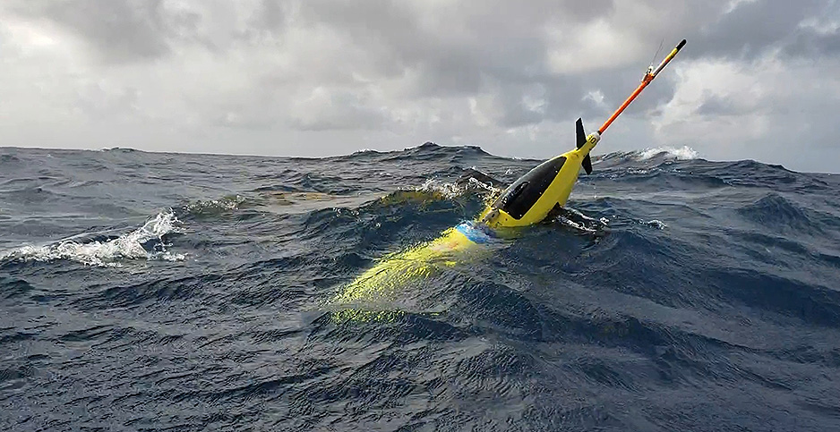 Ocean glider. Photo credit: NOAA