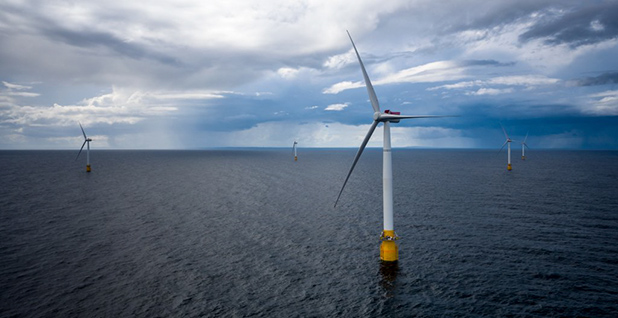 Equinor's Hywind project. Photo credit: Equinor