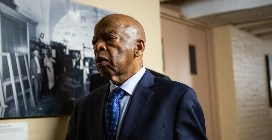 Rep. John Lewis (D-Ga.). Photo credit: Francis Chung/E&E News