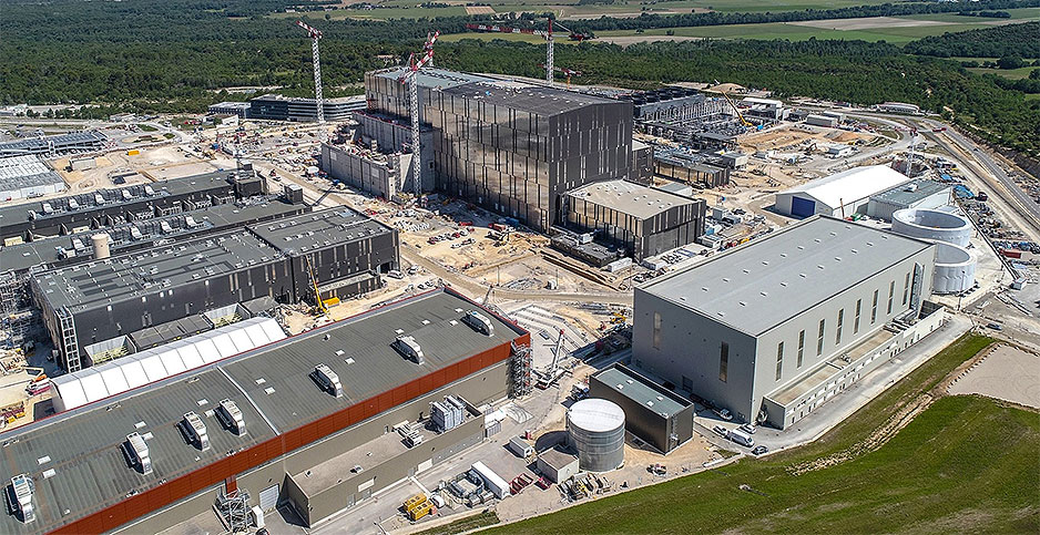 ITER fusion project. Photo credit: ITER/Facebook