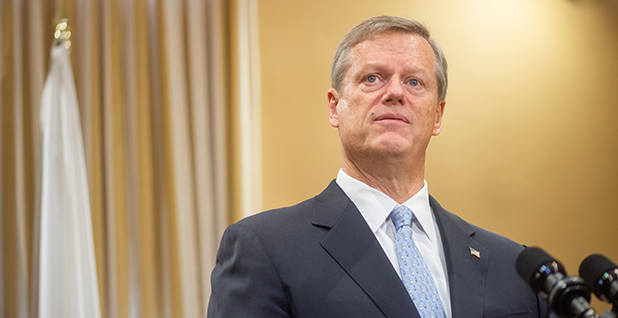 Massachusetts Gov. Charlie Baker (R). Photo credit: Josephine Pettigrew, Office of the Governor/Flickr