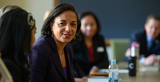 Susan Rice. Photo credit: Gerald R. Ford School of Public Policy, University of Michigan