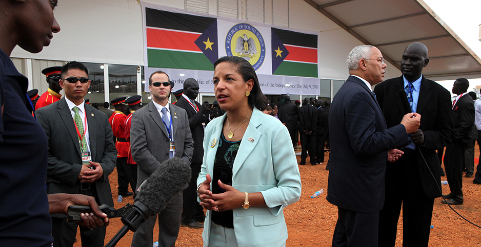 Susan Rice. Photo credit: Jean Warren/US State Department/Flickr