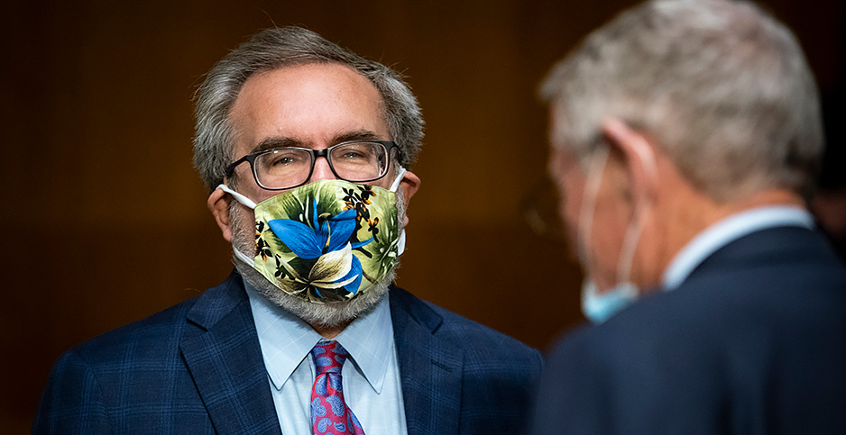 Andrew Wheeler. Photo credit: Al Drago/CNP/AdMedia/Newscom