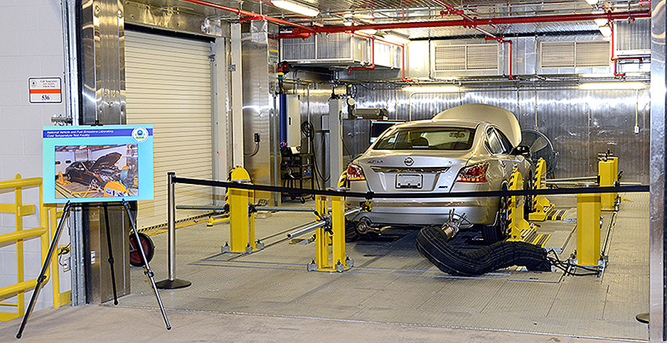 National Vehicle and Fuel Emissions Laboratory. Photo credit: EPA/Flickr