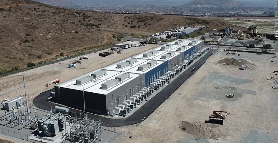 Calif. battery storage project. Photo credit: LS Power/Silverline Productions, Inc./Vimeo