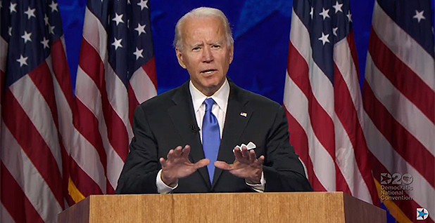 Joe Biden. Photo credit: Democratic National Committee/YouTube