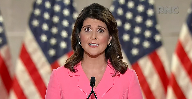 Nikki Haley. Photo credit: Republican National Convention/YouTube