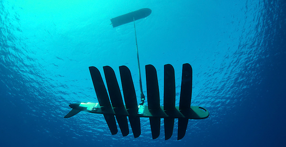 Wave Glider. Photo credit: Liquid Robotics.