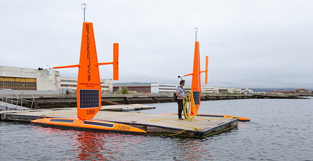 Saildrone. Photo credit: Saildrone