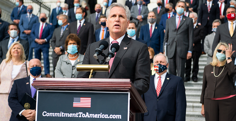 House Republicans. Photo credit: Tom Williams/CQ Roll Call/Newscom