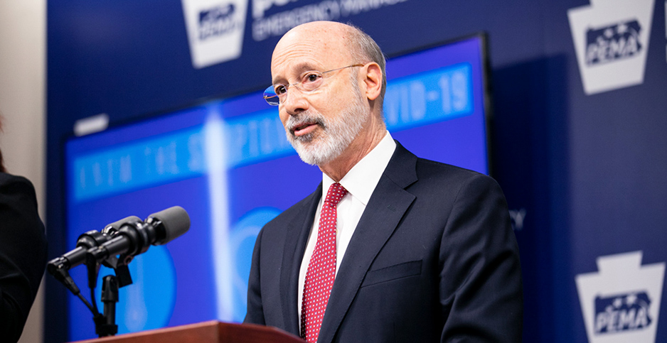 Pennsylvania Gov. Tom Wolf (D). Photo credit: Commonwealth of Pennsylvania