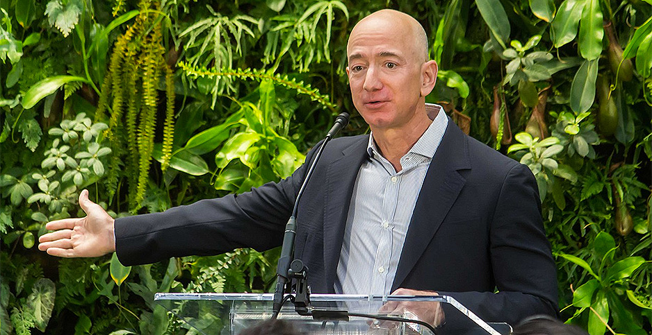 Jeff Bezos. Photo credit: Seattle City Council/Flickr