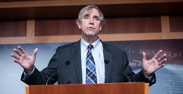 Sen. Jeff Merkley (D-Ore.). Photo credit: Francis Chung/E&E News