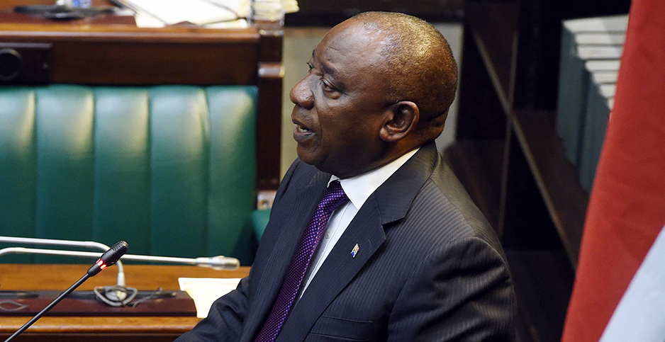 South African President Matamela Cyril Ramaphosa. Photo credit: GovernmentZA/flickr
