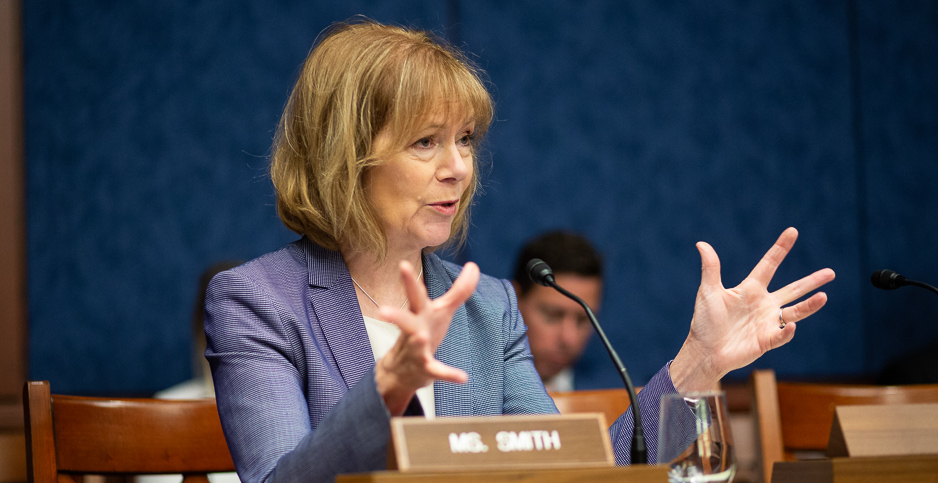 Sen. Tina Smith (D-Minn.). Photo credit: Francis Chung/E&E News