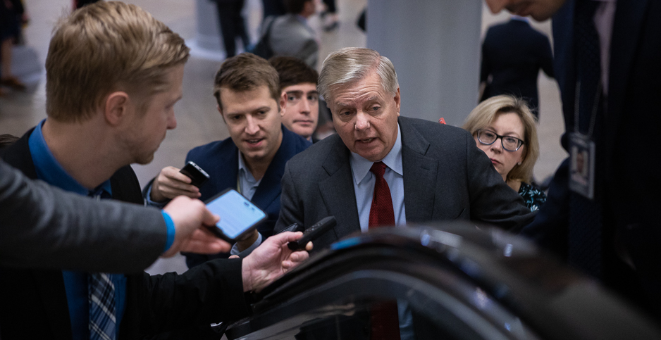 Sen. Lindsey Graham (R-S.C.). Photo credit: Francis Chung/E&E News