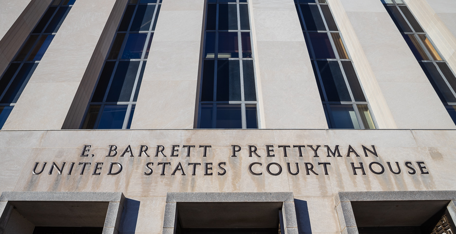 E. Barrett Prettyman U.S. Courthouse. Photo credit: Francis Chung/E&E News