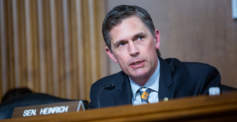 CAMPAIGN 2020: Would-be Interior Secretary Heinrich lays out his vision --  Friday, October 9, 2020 -- www.eenews.net