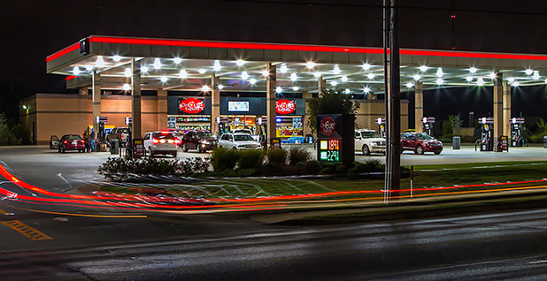 Gas station. Photo credit: katsrcool/Flickr
