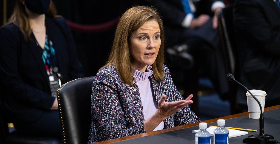 U.S. Supreme Court nominee Judge Amy Coney Barrett. Photo credit: Francis Chung/E&E News