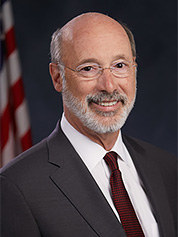 Pennsylvania Gov. Tom Wolf. Photo credit: Pennsylvania governor's office