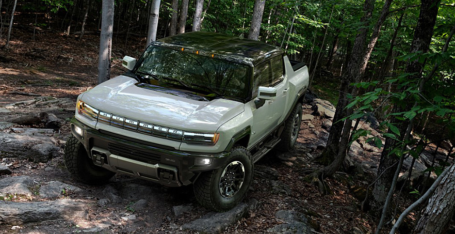 2022 electric Hummer. Photo credit: General Motors Co.